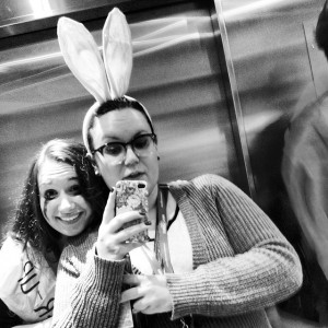 Bunny and prom queen runner-up. Instagram photo by @sophienann